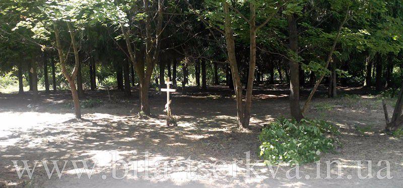 19-го липня прогулюючись біля річки Рось, вирішив відвідати острів. Місце дуже цікаве та привабливе для прогулянки, але дуже запущене.<br /><br />Йдучи стежкою, думав  як виглядав би острів очищений від сухих дерев, бруду, щоб стежки були розчищені, було б не гірше парку Олександрія, а головне значно дешевше. Парк Олександрія хоч і гарний, але кожен день за вхід по 20 гривень вдарить по гаманцю.<br /><br />Йдучи до виходу, натрапив на хрест, посеред очищеної галявини. Це дуже зацікавило. Що може робити хрест серед острову!? Спочатку прийшло на думку що когось вбили і на тому місці поставили хрест.<br /><br />Підійшовши до хреста, прочитав на ньому напис і здивувався ще більше.<br /><br />Чому б це серед острову освячувати галявину!? На думку спало що тут був шабаш якийсь, але ще й інша думка промайнула, можливо тут хочуть збудувати церкву?<br />Ця думка більш ймовірніша, дивлячись на те як збільшується кількість церков на квадратний кілометр і не має значення до якого патріархату відноситься. Розглянувши цю думку більш ретельніше, прийшов до висновку що місце ідеальне для чергової церкви, про це говорить ще й інше, церкви захоплюють території парків, лікарень, скверів та бульварів. Там можна збудувати цілий розважально-церковний комплекс. Є на острові і став для лебедів і місце для будинків служителів бога, зручний під'їзд, двір великий, щоб прихожан більше вмістити.<br /><br />Так як місця на острові достатньо, то це вже десь між середнім і крупним бізнесом маштаб церкви. Скоріш за все такий ласий шмат перейде до московського...