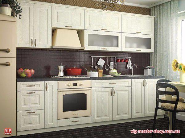 """Кухня """"Грация""""<br />Модульная кухня """"Грация"""" фабрики Вип-Мастер - изысканный лаконичный и дизайн, высокое качество и практичность<br />http://vip-master-shop.com.ua/modulnye-kuhni/kuhni-gracia"""