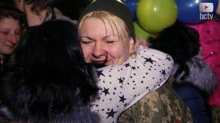 Білоцерківский зенитно-ракетний полк повернувся додому !!!