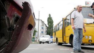 ДТП за участю маршрутного таксі (16.08.2019) 🚐💥🚙