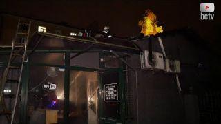 Пожежа! Загорівся гриль-бар