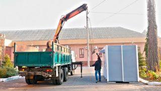Демонтовано незаконний МАФ біля тетру ім. Саксаганського