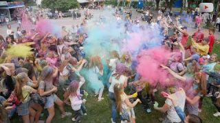 """Фестиваль барв Холі """"Color Day"""" у Білій Церкві"""