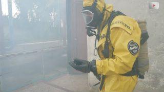Терористичнй акт з викидом хлору у повітря. ☣️☣️☣️ Навчання.