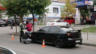ДТП по вул Ярослава Мудрого. Водій збив жінку