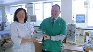 Апарат вартістю понад 300 тис.грн. допоможе білоцерківцям з нирковою недостатністю