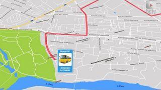 Мережа міських автобусних маршрутів Білої Церкви (1.03.2018)