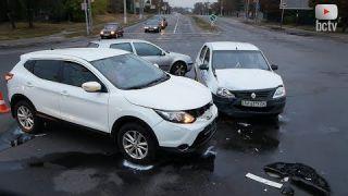 На аварійному перехресті у Білій Церкві – знову ДТП