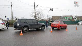 ДТП на перехресті пр. Князя Володимира та вул. Гризодубової