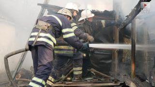 Пожежа на другому провулку Шевченка: згорів сарай 🔥🔥🔥