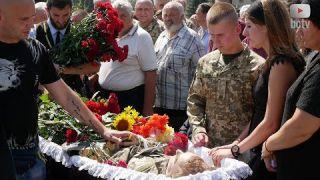 Прощання із загиблим Іваном Войтенком