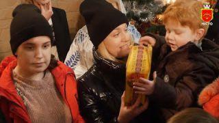 Святий Миколай вже привітав дітей у Білій Церкві