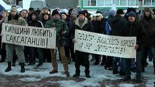 Події щодо театру ім. Саксаганського. Голодування та мітинг в Білій Церкві