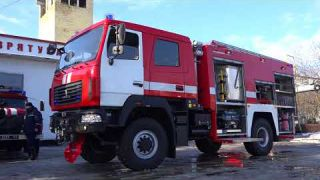 Нова пожежна машина для Білої Церкви